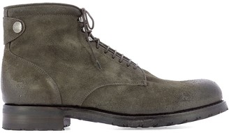 Alberto Fasciani Yago Lace-Up Ankle Boots