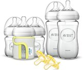 Philips Natural Glass Newborn Baby Bottle Starter Set, SCD291/01