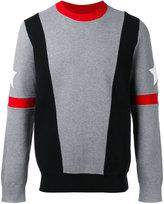 Givenchy stars and stripe sweatshirt - men - Polyamide/Spandex/Elastane/Cotton - M