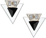 Topshop Acrylic Triangle Layered Studs