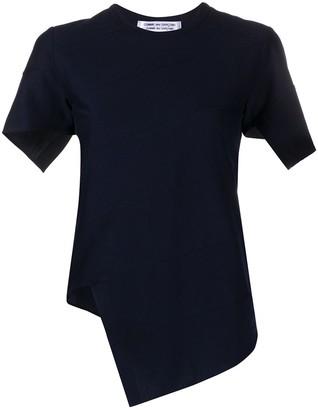 Comme des Garcons asymmetric short-sleeved top