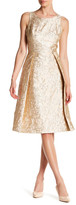 Nicole Miller New York Textured Fit & Flare Dress