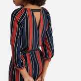 La Redoute Collections Striped Shift Dress