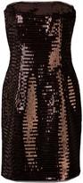 HANEY Naomi fitted sequin-embellished dress