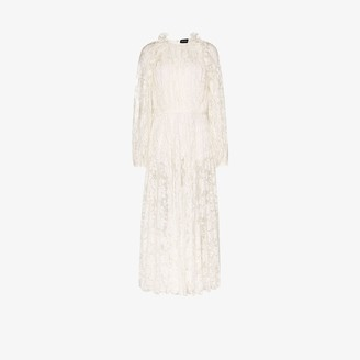 Magda Butrym Ruffled lace dress