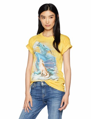 The Mountain Dragon Wolf Moon Adult Woman's T-Shirt