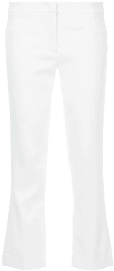 story. White Ayla cropped trousers