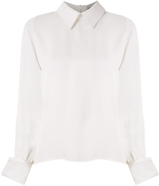 Gloria Coelho Pointed Collar Shirt