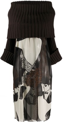 Dolce & Gabbana Pre Owned Kiss Print Kaftan