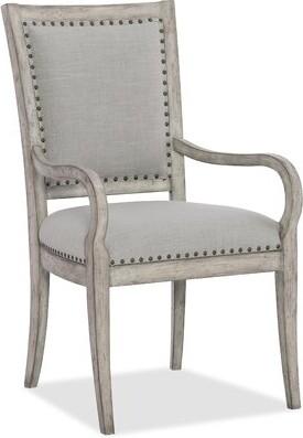 Hooker Furniture Boheme Upholstered Dining Arm Chair (Set of 2