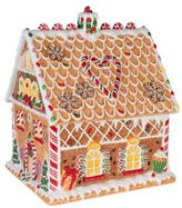 Fitz & Floyd Reagan White House Christmas Gingerbread Cookie Jar