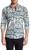Ganesh Printed Slim Fit Shirt