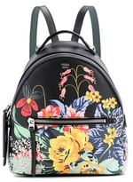 Fendi Mini printed leather backpack