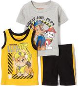 Children's Apparel Network PAW Patrol Gray & Yellow Tank Set - Toddler
