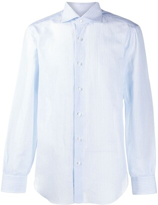 Barba Plain Button Shirt