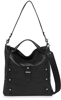 Botkier Warren Medium Leather Hobo Bag