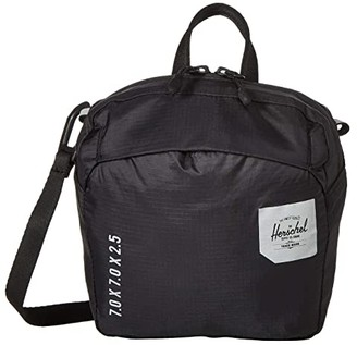 Herschel Ultralight Crossbody (Black) Cross Body Handbags
