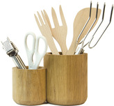Houseology Wireworks Double Utensils Pot