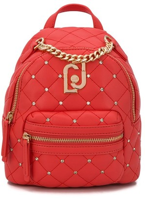 Liu Jo Logo Quilted Backpack