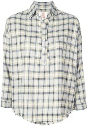 A Shirt Thing check print shirt