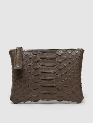 Rivers Eight Coin Clutch, Faux Python