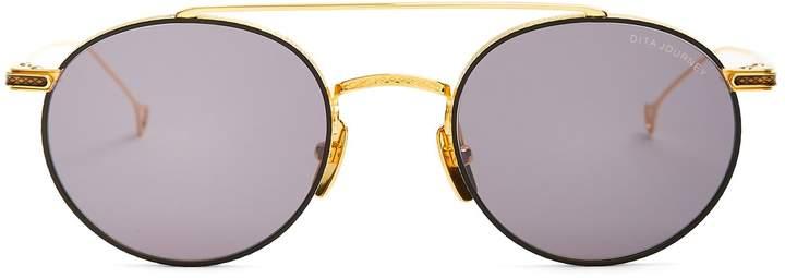 Dita Eyewear Journey round-frame metal sunglasses