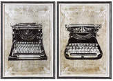 Uttermost Wall Art, Classic Typewriters