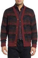 Robert Graham Bauta Mixed Knit Cardigan