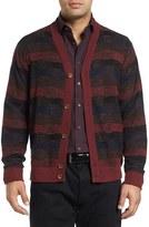 Robert Graham Men's Bauta Mixed Knit Cardigan