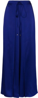 Rosetta Getty Tie-Waist Wide-Leg Trousers