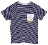 Angel & Rocket Boys' Striped Jersey T-Shirt, Green