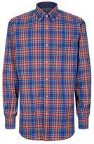Paul & Shark Multi Check Poplin Shirt