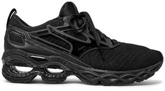 Mizuno Wave Creation Rubber-Trimmed Mesh Running Sneakers