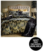 By Caprice Metallic Jacquard Butterfly Pillowcases