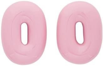 Uncommon Matters Pink Torus Earrings