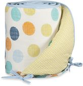 Lolli LivingTM by Living Textiles Baby Crib Bumper in Bot Dot/Labyrinth Green