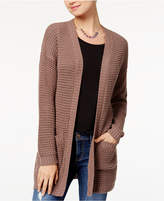 Say What Juniors' Drop-Shoulder Cardigan