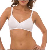 Q-T Intimates QT Intimates Nursing Bra - Cotton Blend - White - 40B