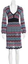 M Missoni Knit A-Line Dress