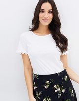 Dorothy Perkins Circle Trim Tee