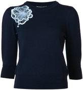 Roksanda flower jumper - women - Wool - S