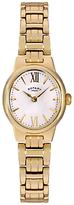Rotary LB02748/01 Women's Olivie Bracelet Strap Watch, Gold/White