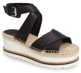 Marc Fisher Women's Greg Platform Wedge Sandal