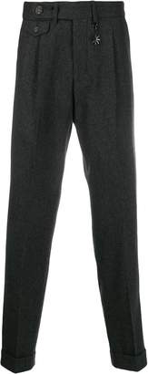 Manuel Ritz flap pocket trousers