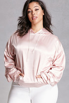 Forever 21 FOREVER 21+ Plus Size Private Academy Hoodie