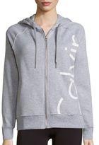 Calvin Klein Heathered Long Sleeve Hoodie