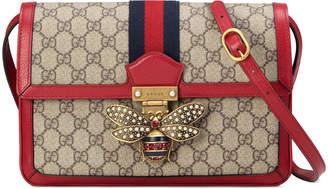 Gucci Queen Margaret Medium GG Supreme Shoulder Bag