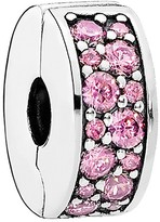 Pandora Clip - Sterling Silver & Cubic Zirconia Shining Elegance, Moments Collection