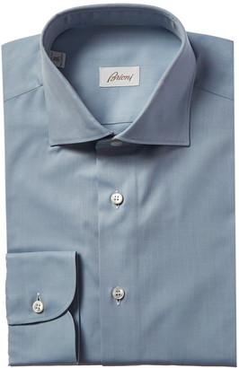 Brioni Regular Fit Woven Dress Shirt