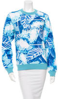 Opening Ceremony Leaf Patterned Crew Neck Sweatshirt w/ Tags